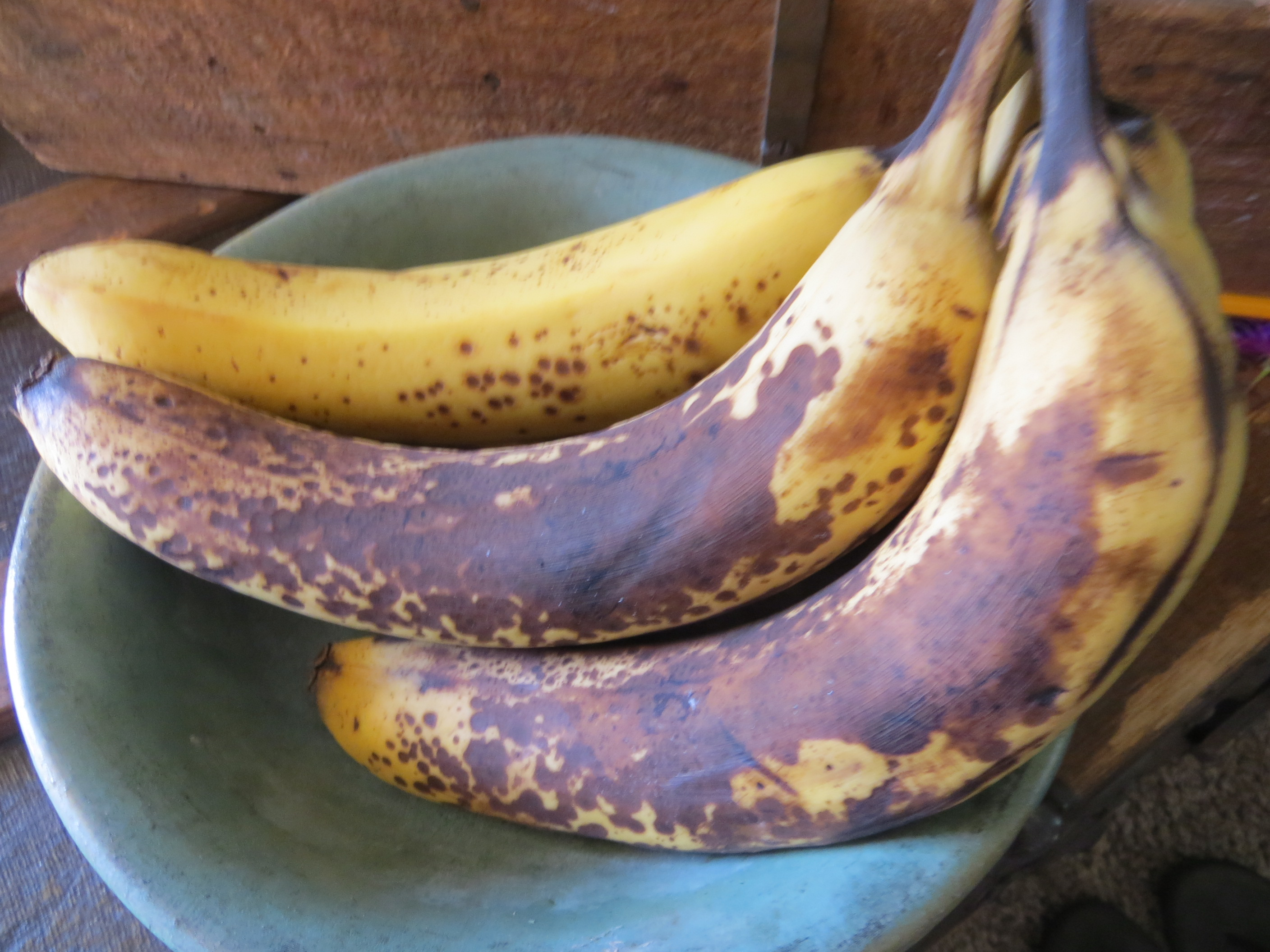 Going Bananas! Perfect RECIPE for muffins or banana bread.