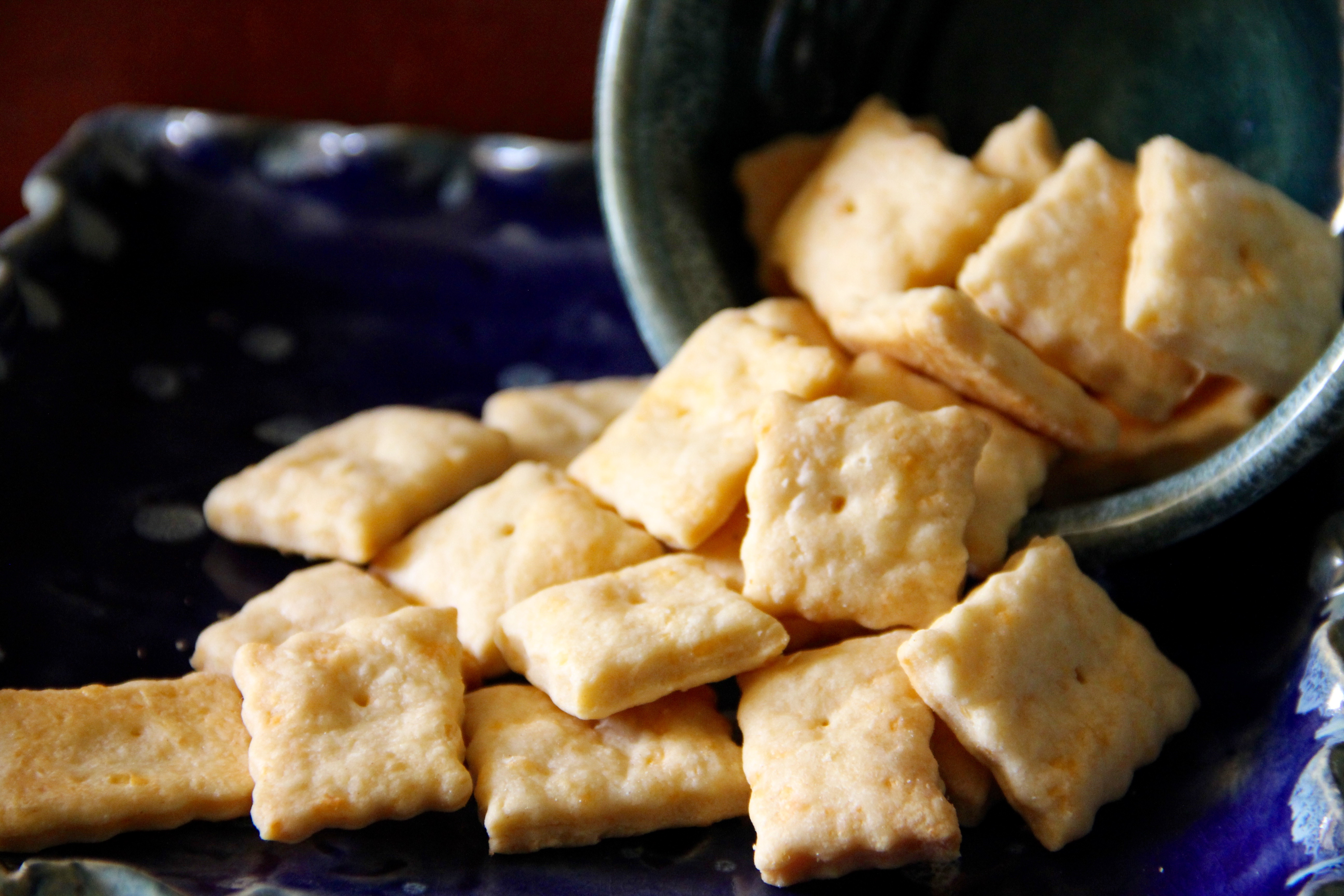 DIY Cheese Crackers that are out of this world!