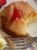 A Time For Everything..Including Baking! Recipe for Mini Pineapple Upside Down Cakes